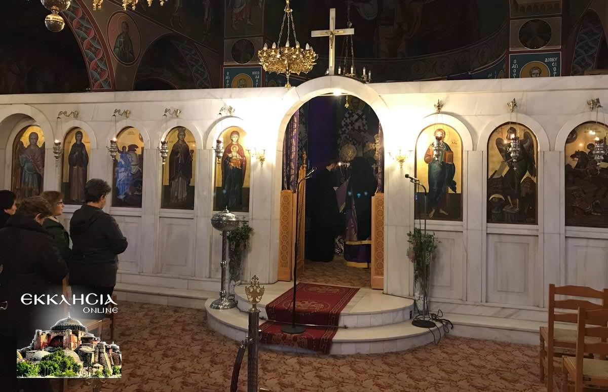 Ιερός Ναός Αγίας Βαρβάρας Μεταμόρφωση