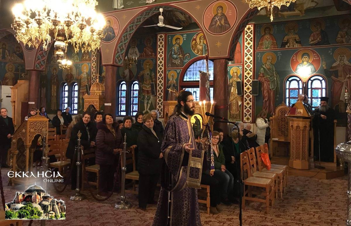 Προηγιασμένη Θεία Λειτουργία Ιερός Ναός Αγίας Βαρβάρας 2019