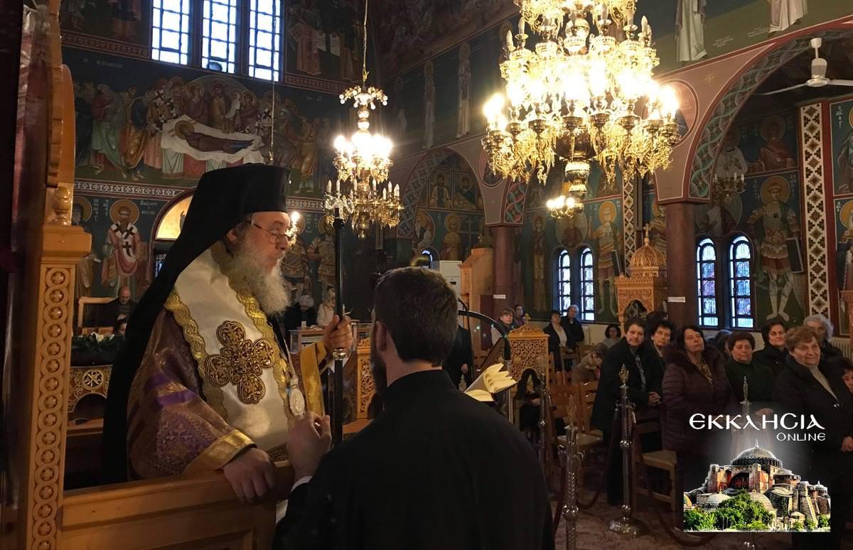 Λειτουργία Ιερός Ναός Αγίας Βαρβάρας Μεταμόρφωση
