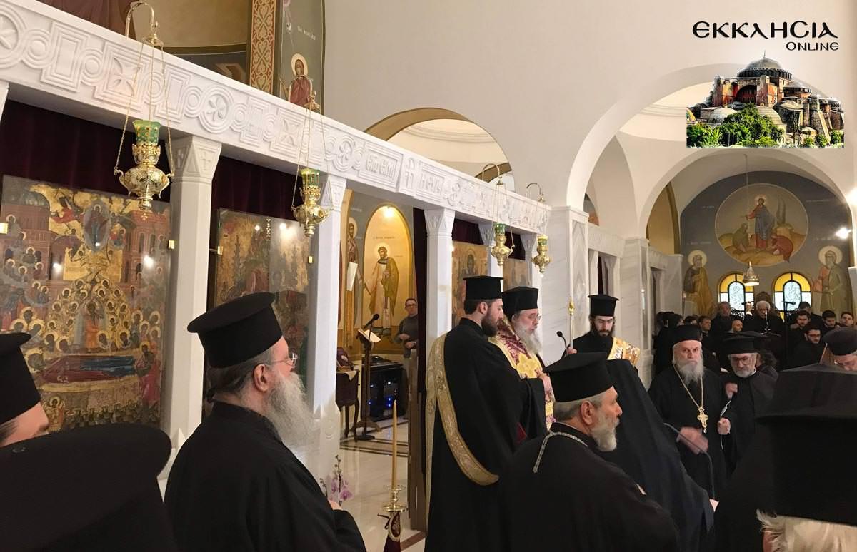 Θυρανοίξια και Σταυροπροσυκήσεως στον Ιερό Ναό Κοιμήσεως της Θεοτόκου Άγιος Στέφανος 2019