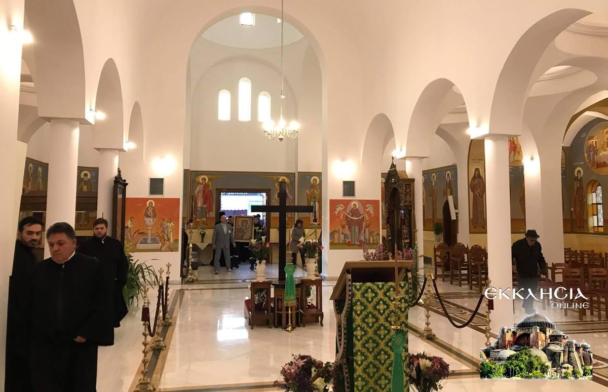 Σταυροπροσυκήσεως στον Ιερό Ναό Κοιμήσεως της Θεοτόκου Άγιος Στέφανος