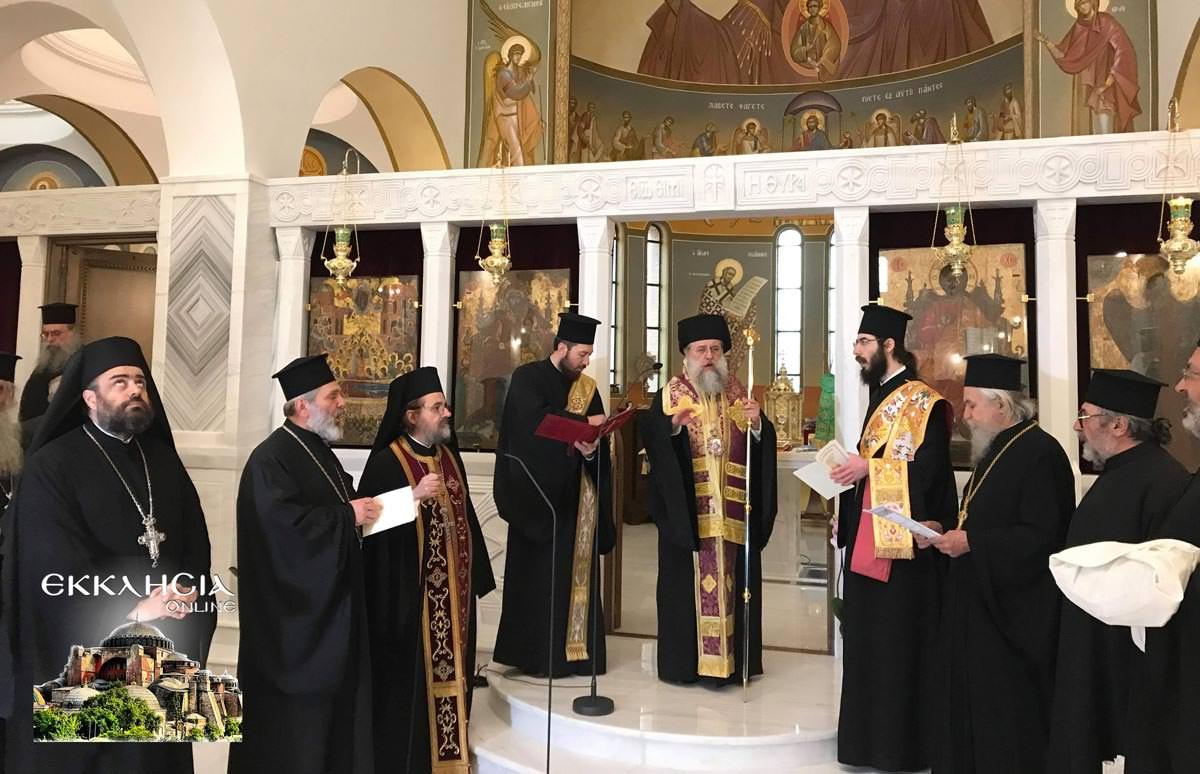 Σταυροπροσυκήσεως Ιερός Ναός Κοιμήσεως της Θεοτόκου Άγιος Στέφανος 2019