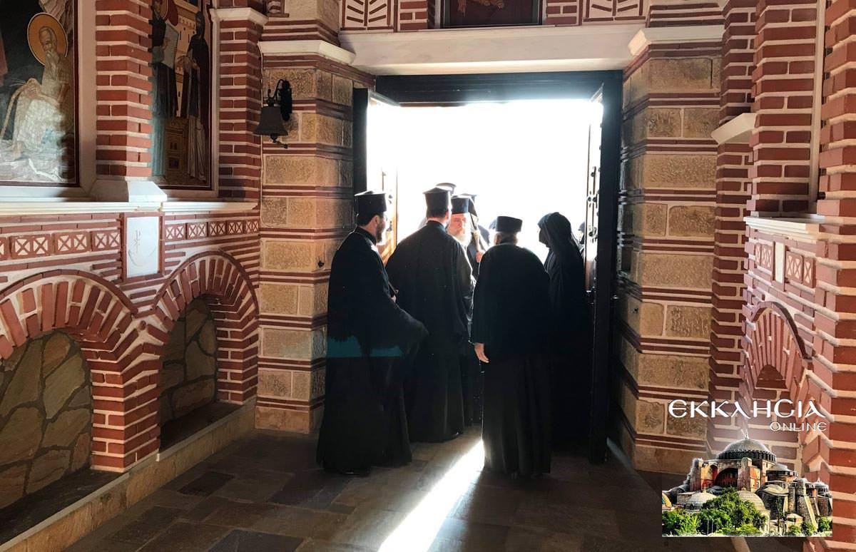 Χαιρετισμοί Β Μοναστήρι Εισοδίων 2019