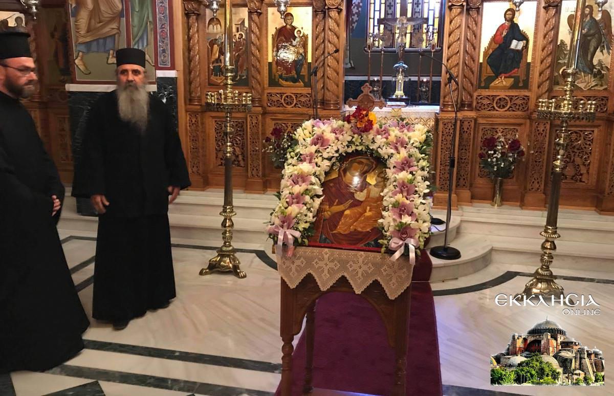 Χαιρετισμοί Β Μοναστήρι Εισοδίων