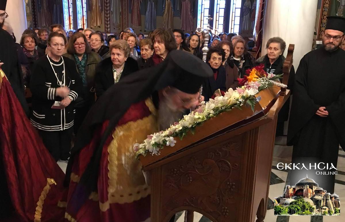 Χαιρετισμοί Μοναστήρι Εισοδίων 2019