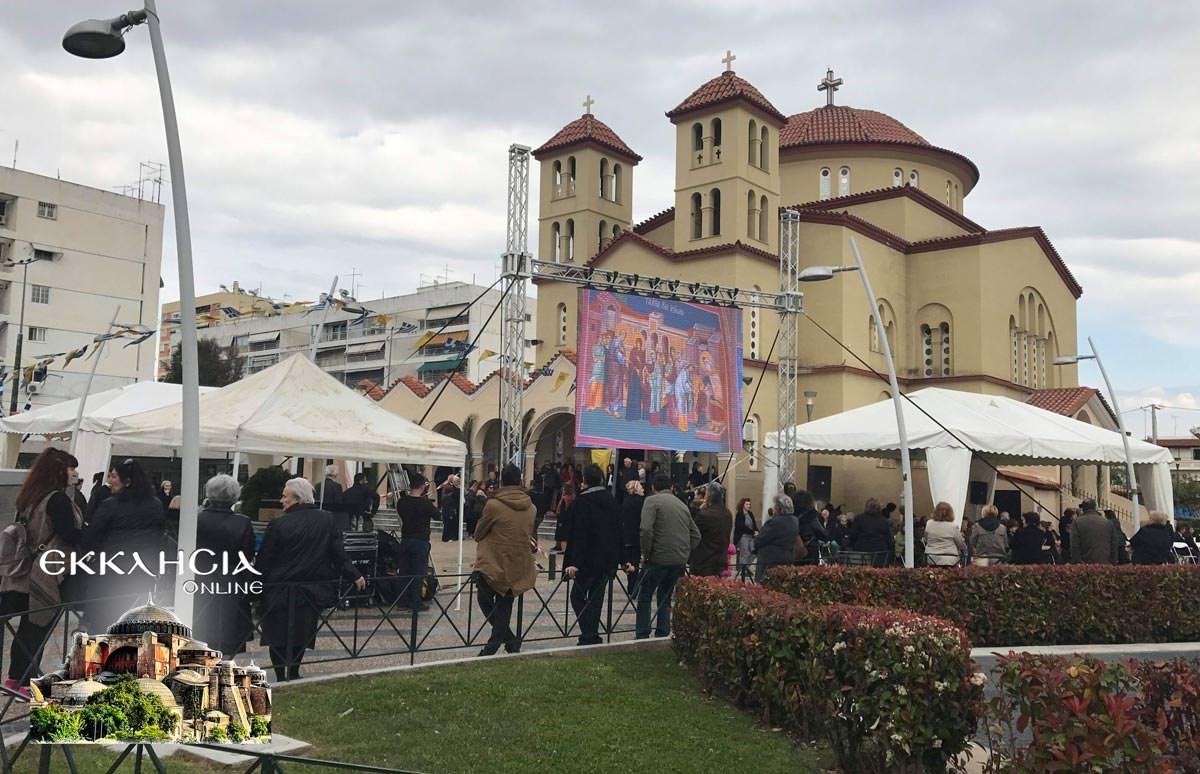 Ιερός Ναός Ευαγγελισμός της Θεοτόκου Περιστέρι 2019