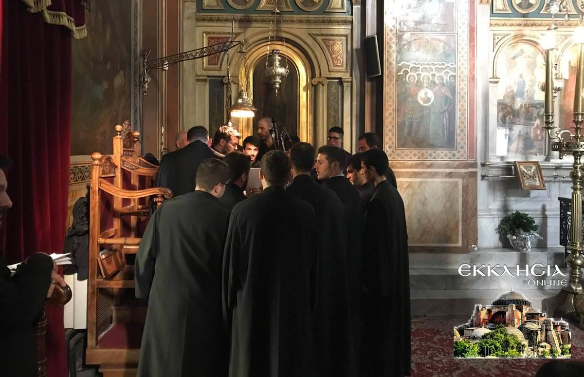 Εσπερινός Ιερός Ναός Κοιμήσεως της Θεοτόκου Μαρούσι 2019