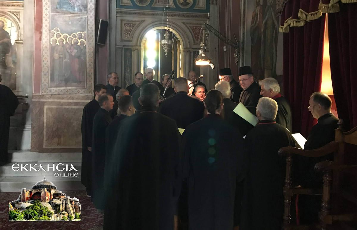 Εσπερινός Ναός Κοιμήσεως της Θεοτόκου Μαρούσι 2019