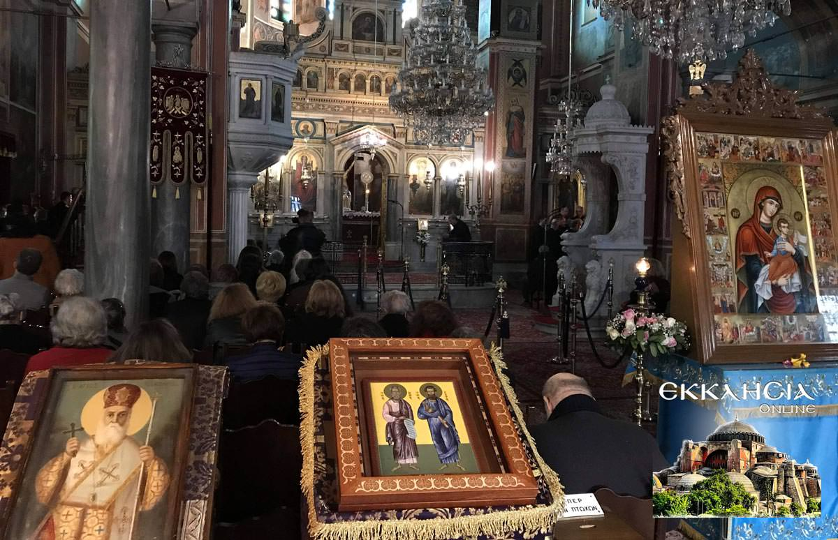 Εσπερινός Ιερός Ναός Κοιμήσεως της Θεοτόκου Μαρούσι