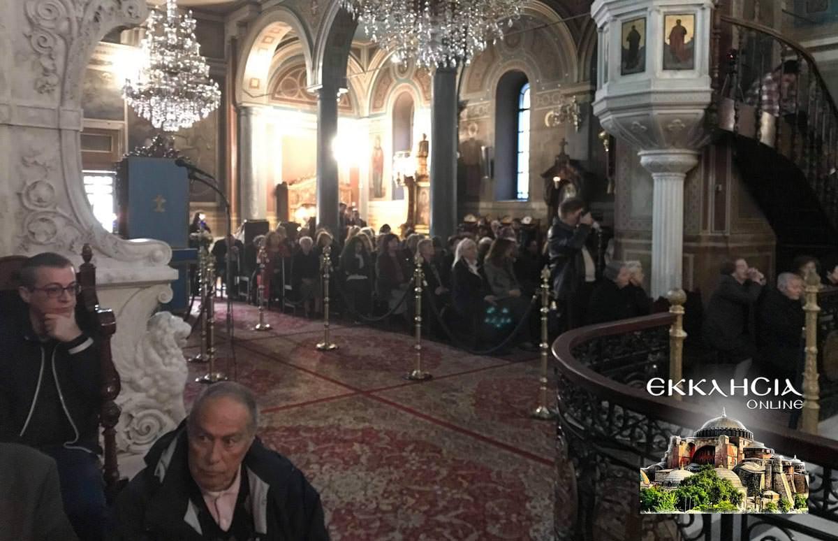 Εσπερινός Ιερός Ναός Κοιμήσεως Θεοτόκου