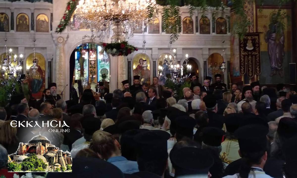 Ιερός Ναός Κωνσταντίνου και Ελένης 2019