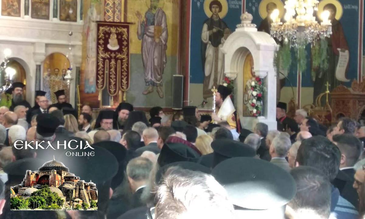 Ιερός Ναός Κωνσταντίνου και Ελένης Γλυφάδα 2019