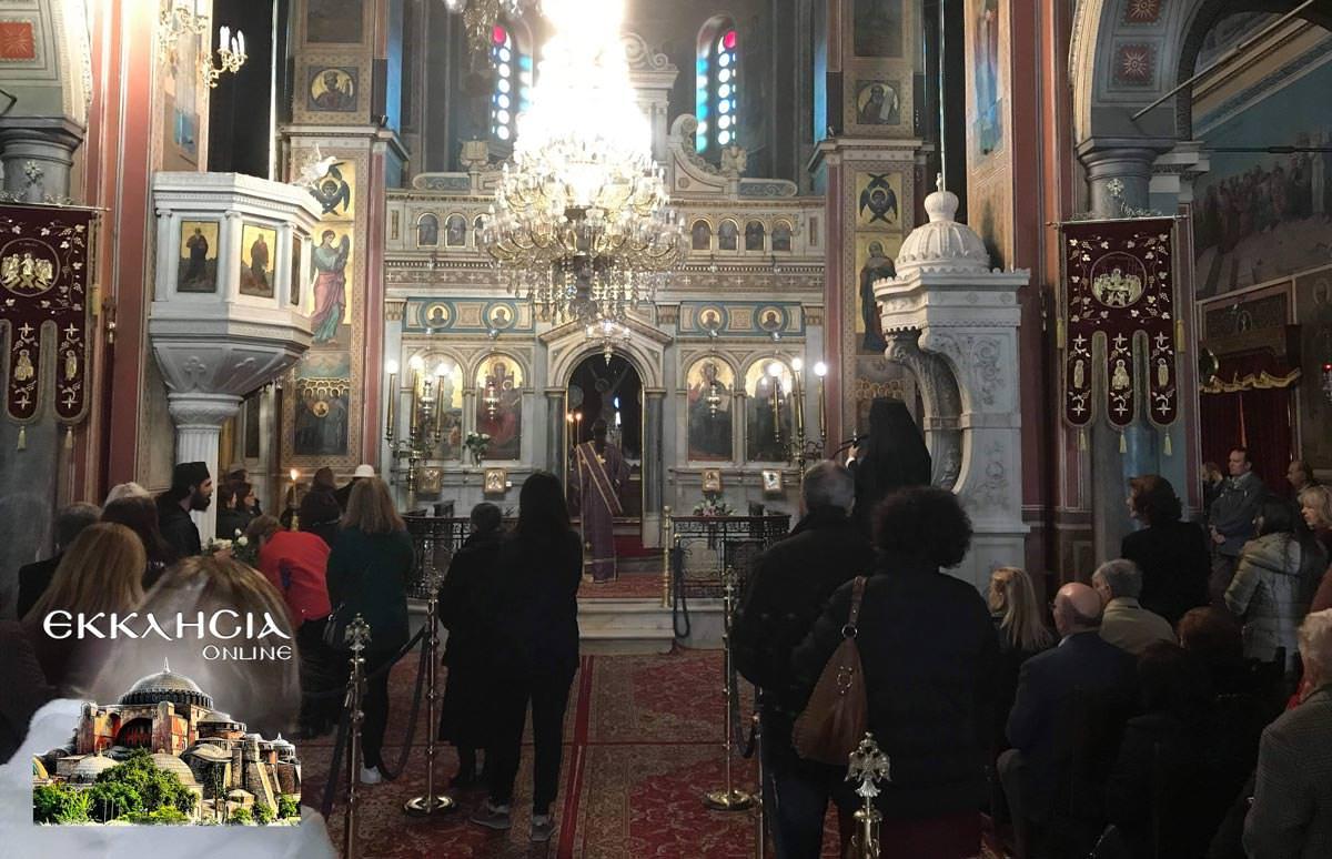 Εσπερινός Ιερός Ναός Κοιμήσεως Θεοτόκου Μαρούσι 2019