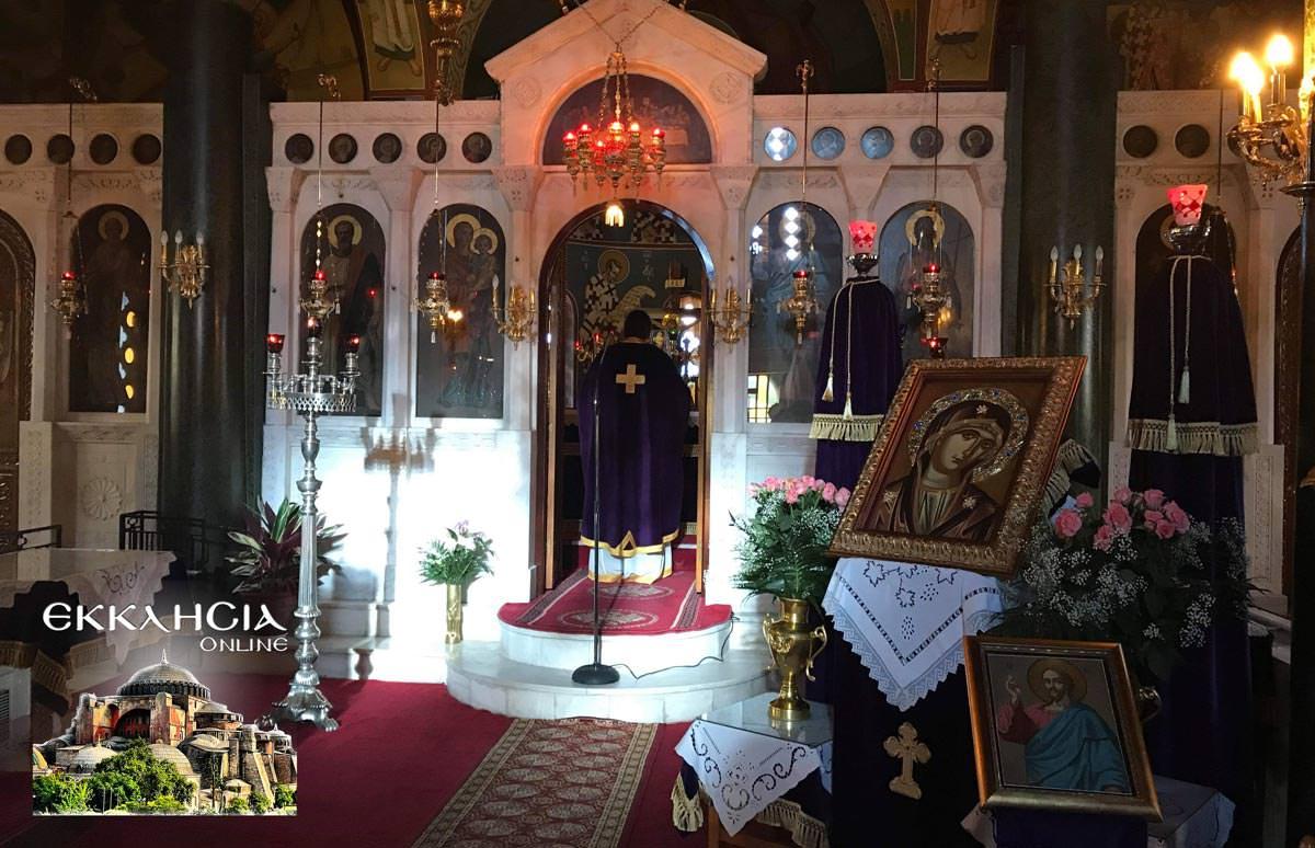 Θεία Λειτουργία Ωρωπός 2019
