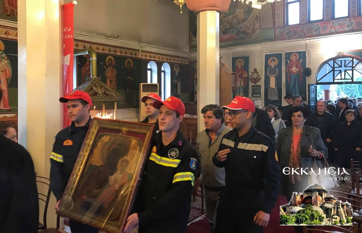 Θαυματουργή Ιερά Εικόνα Παναγίας Ντινιούς 2019