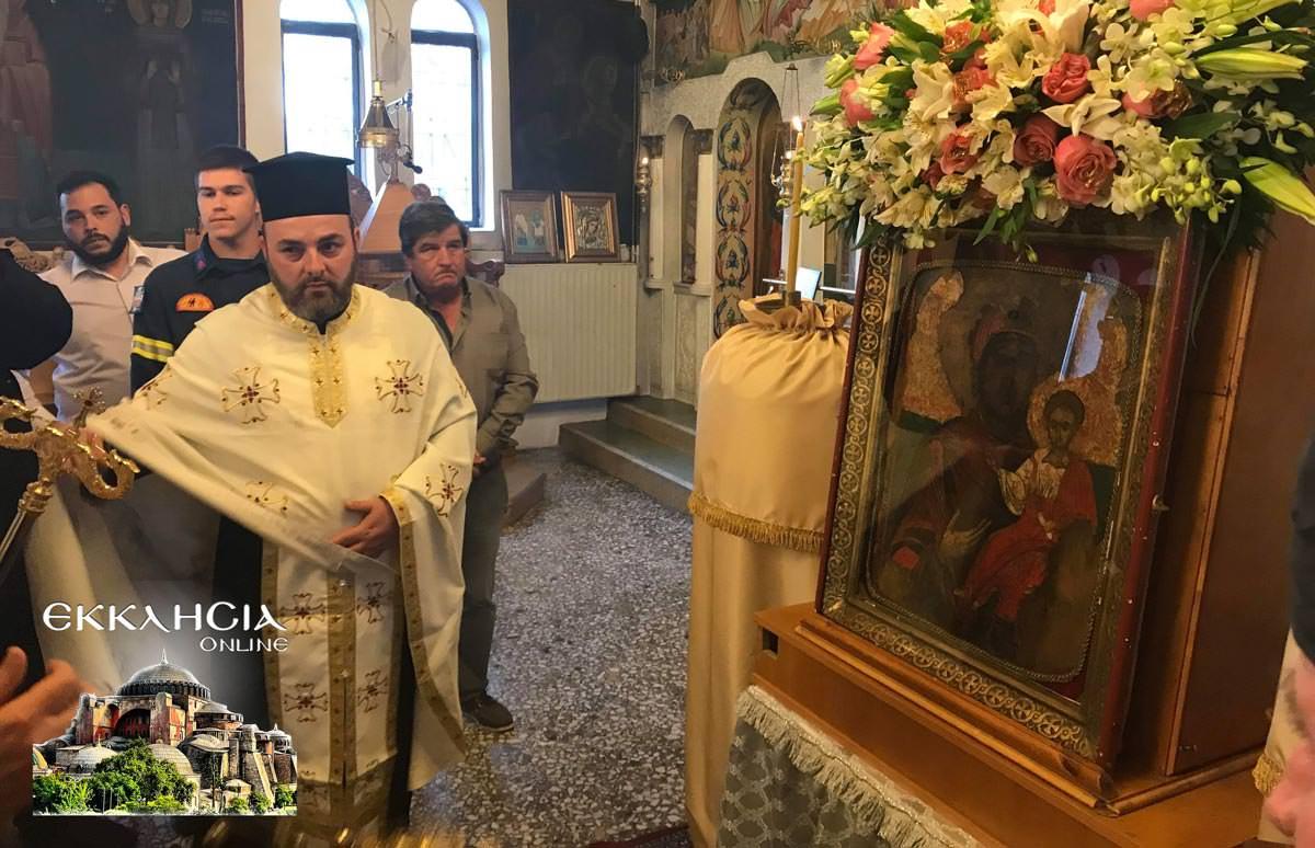 Θαυματουργή Ιερά Εικόνα Παναγίας Ντινιούς