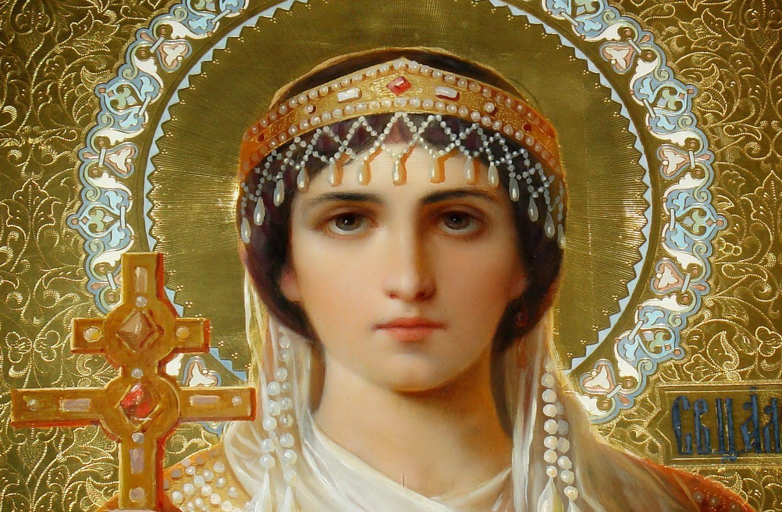 Αποτέλεσμα εικόνας για Αγία Υπομονή, η αυτοκράτειρα που έγινε μοναχή και προστάτιδα των φτωχών