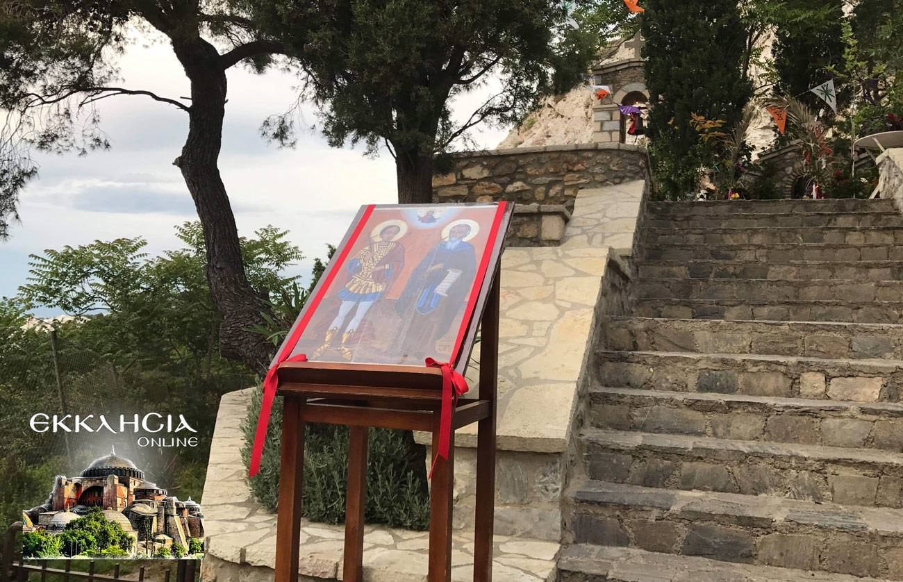 άγιοι ισίδωροι Λυκαβηττός 2019
