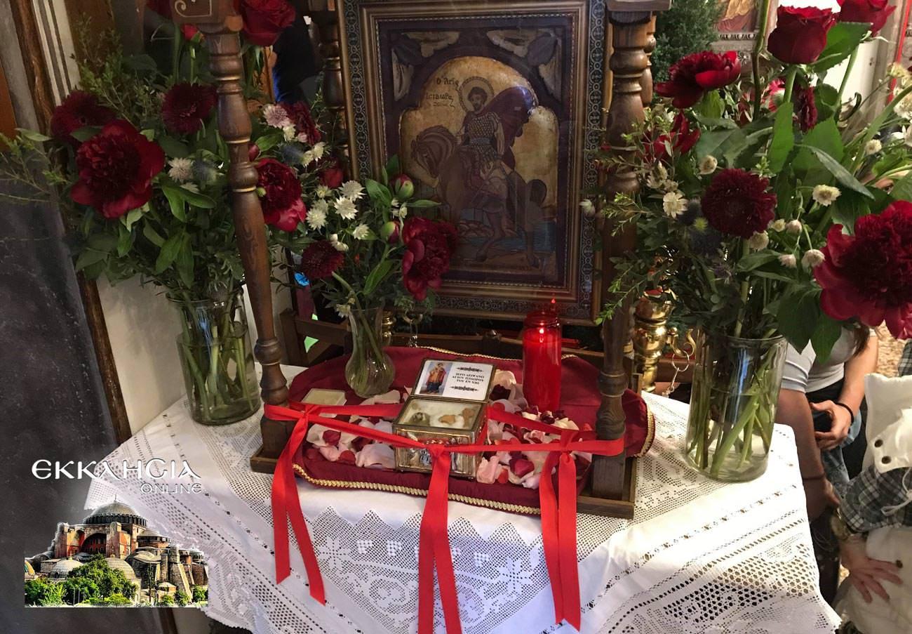 ναός αγίων ισιδώρων Λυκαβηττός 2019