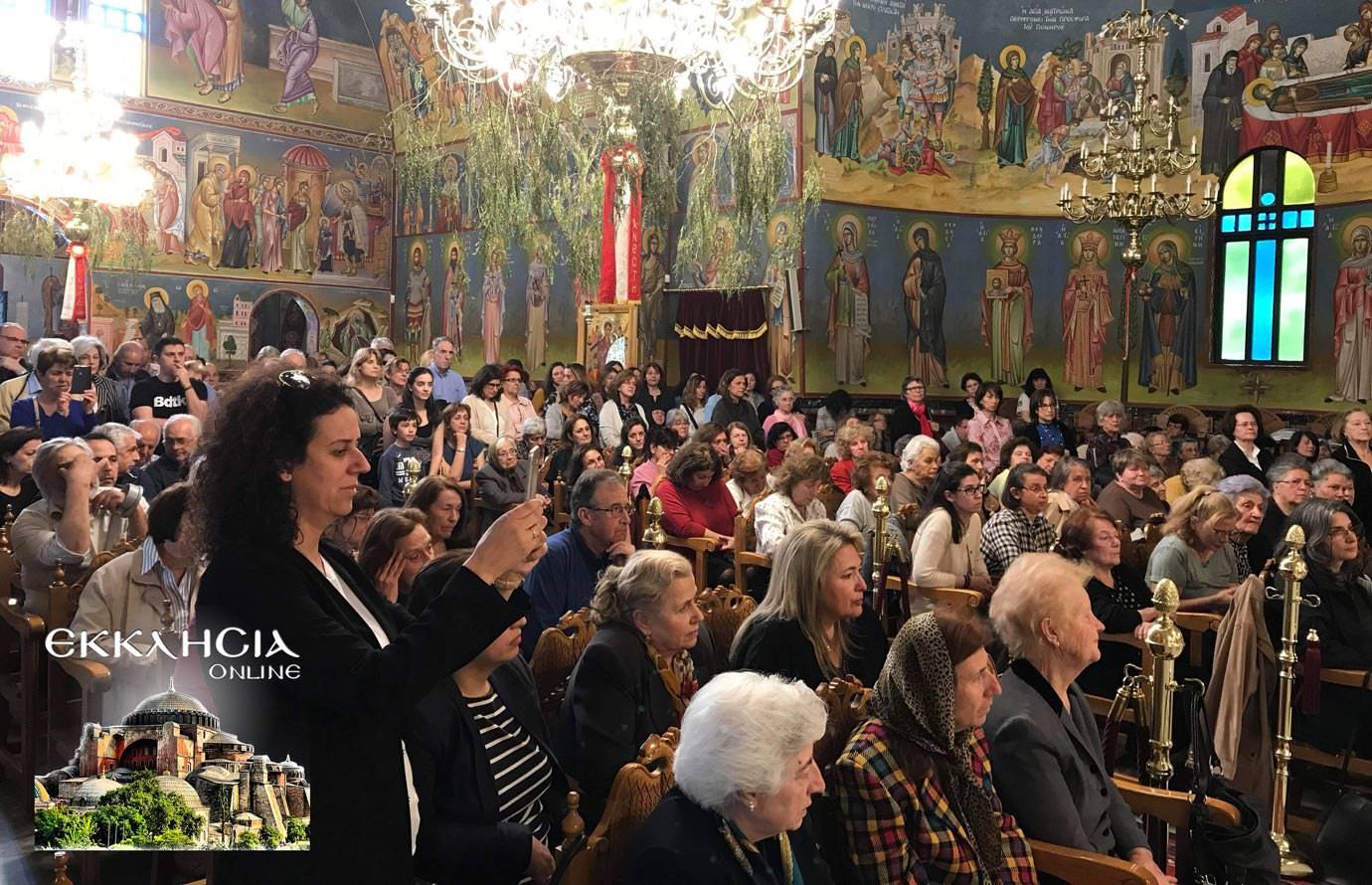Ιερός Ναός Αγίας Ματρώνας Ερυθραία Ομιλία Άγιος Διονύσιος