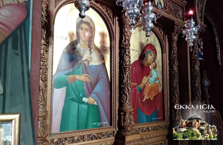 ιερός ναός αγίας φωτεινής ηλισσού Κυριακή Σαμαρείτιδος