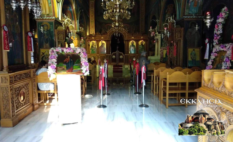 ιερός ναός αγίας φωτεινής ηλίσσου Κυριακή της Σαμαρείτισσας