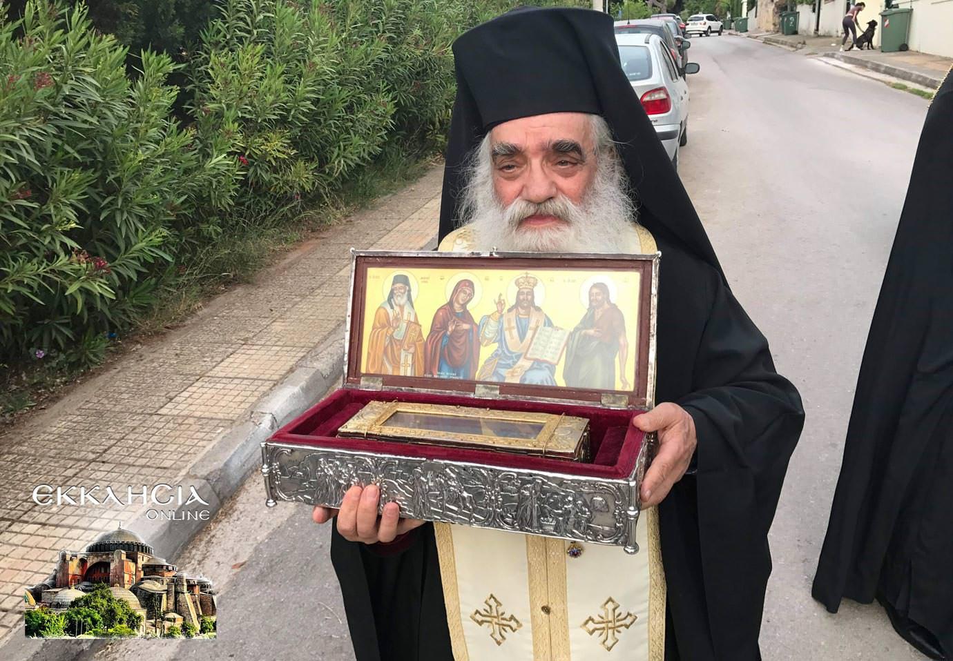 αγία ματρώνα ιερά λείψανα 2019