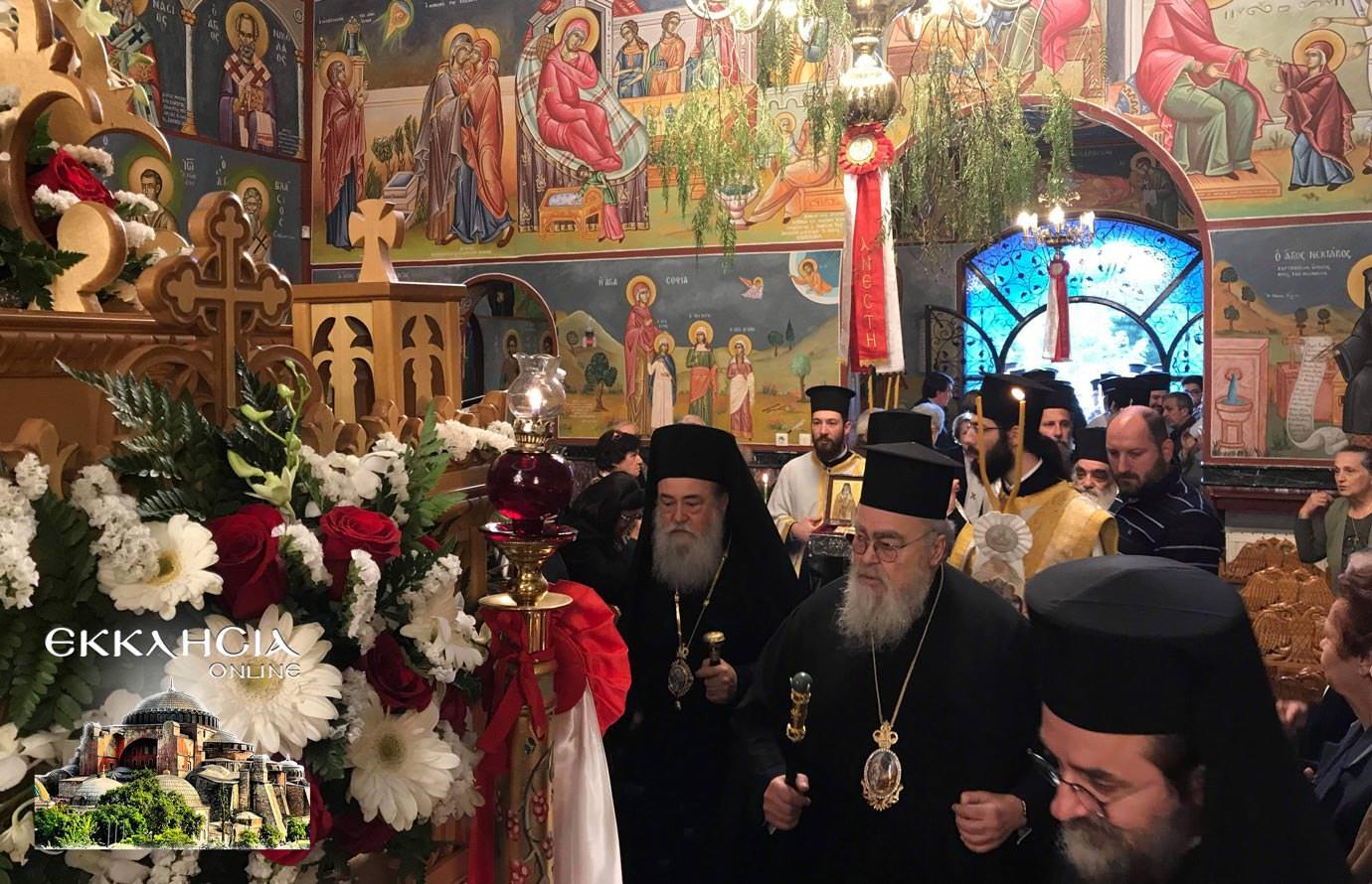 αγία ματρώνα ιερά λείψανα