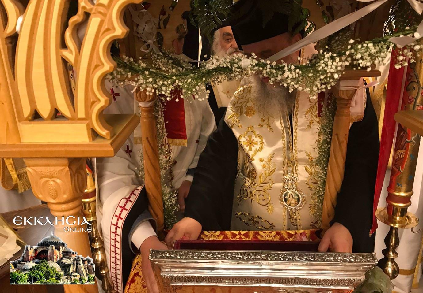 αγία ματρώνα ιερά λείψανα ερυθραία