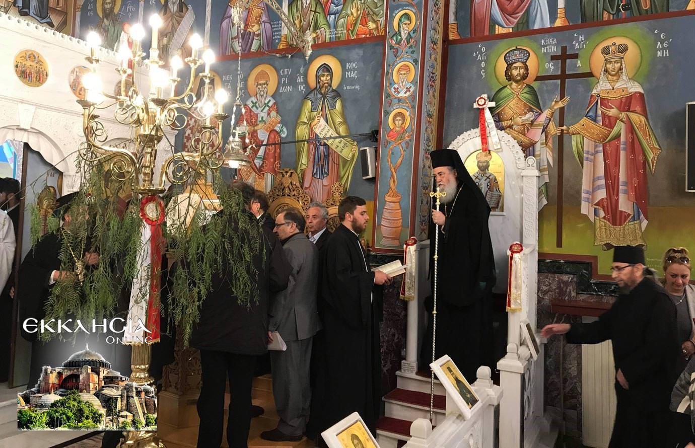 αγία ματρώνα ιερά λείψανα ιερός ναός