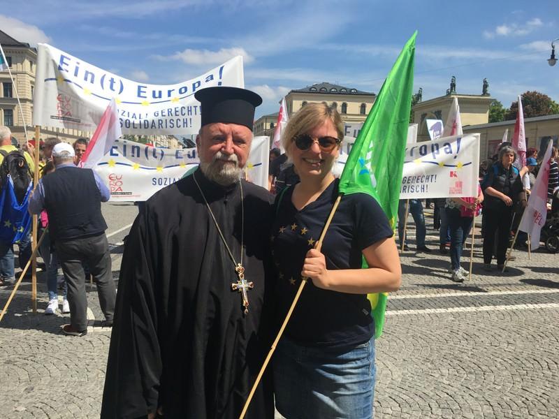 Απόστολος Μαλαμούσης διαδήλωση