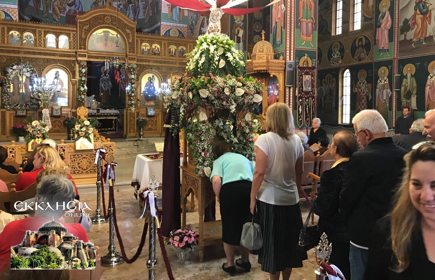 Κωνσταντίνου και Ελένης Ιερός Ναός Νέα Μάκρη
