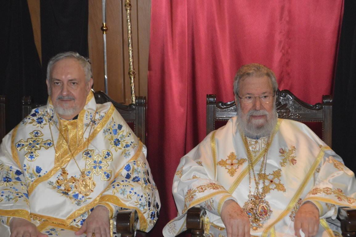 μητροπολίτης Γαλλίας Εμμανουήλ Κύπρος Οικουμενικό Πατριαρχείο