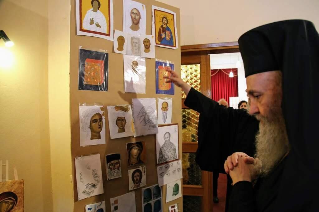Λήξη μαθημάτων Αγιογραφίας της Ιεράς Μητρόπολης Ναυπάκτου