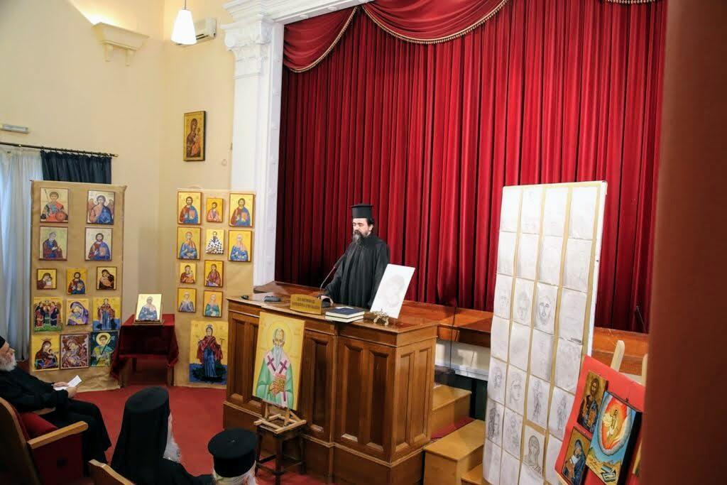 Λήξη μαθημάτων Βυζαντινής Μουσικής και Αγιογραφίας της Ιεράς Μητρόπολης Ναυπάκτου 2019