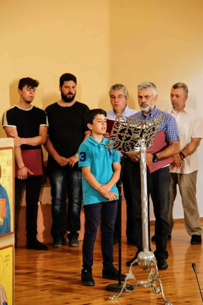 Ιερά Μητρόπολη Ναυπάκτου Βυζαντινή Μουσική λήξη 2019