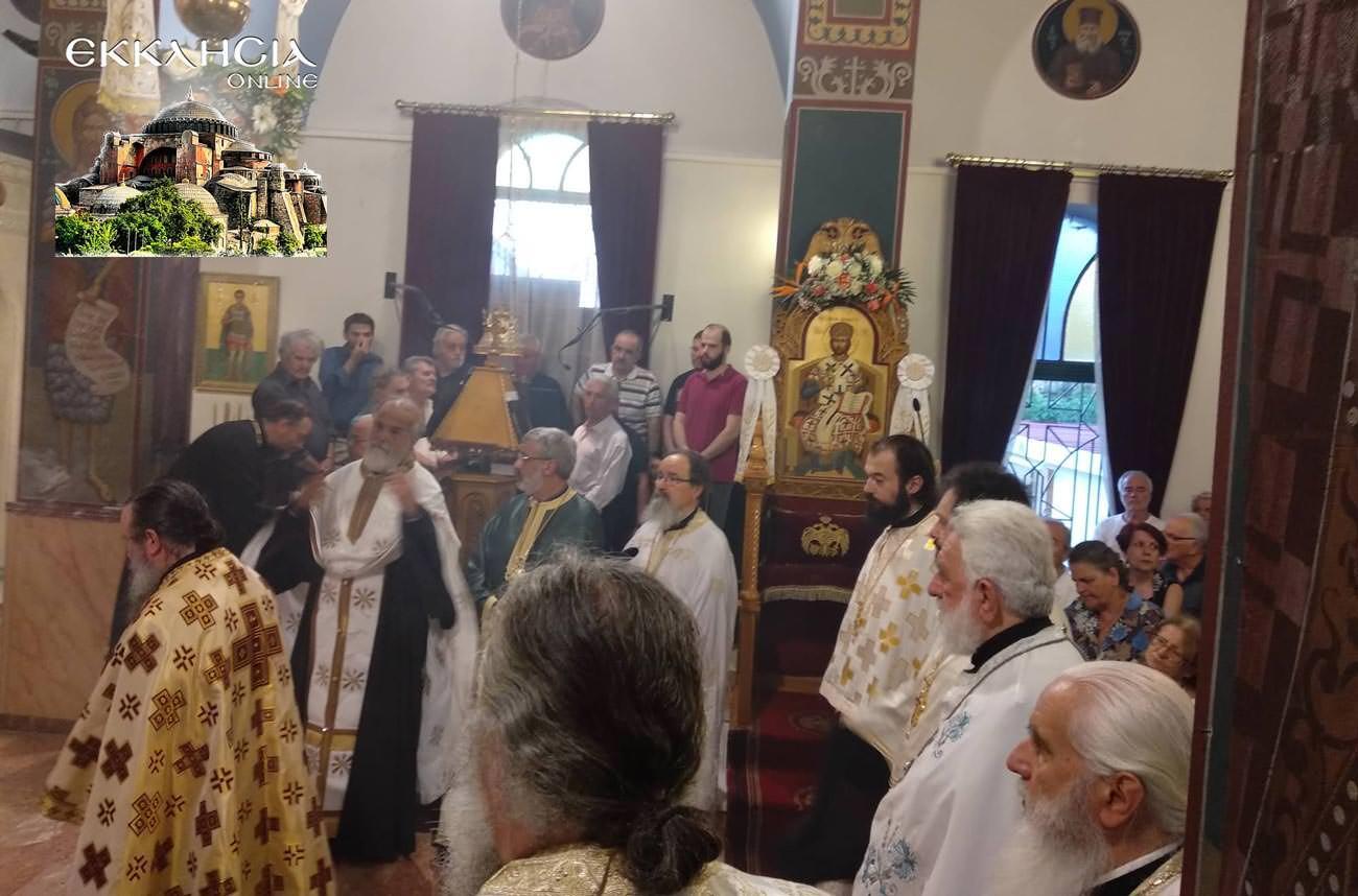 Εορτή Αγίων Αποστόλων Πέτρου και Παύλου εσπερινός