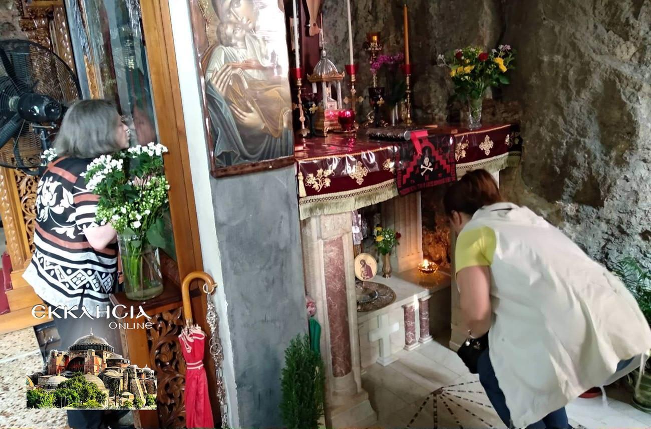 Λυκαβηττός Άγιος Ιούδας Θαδδαίος προσκύνημα