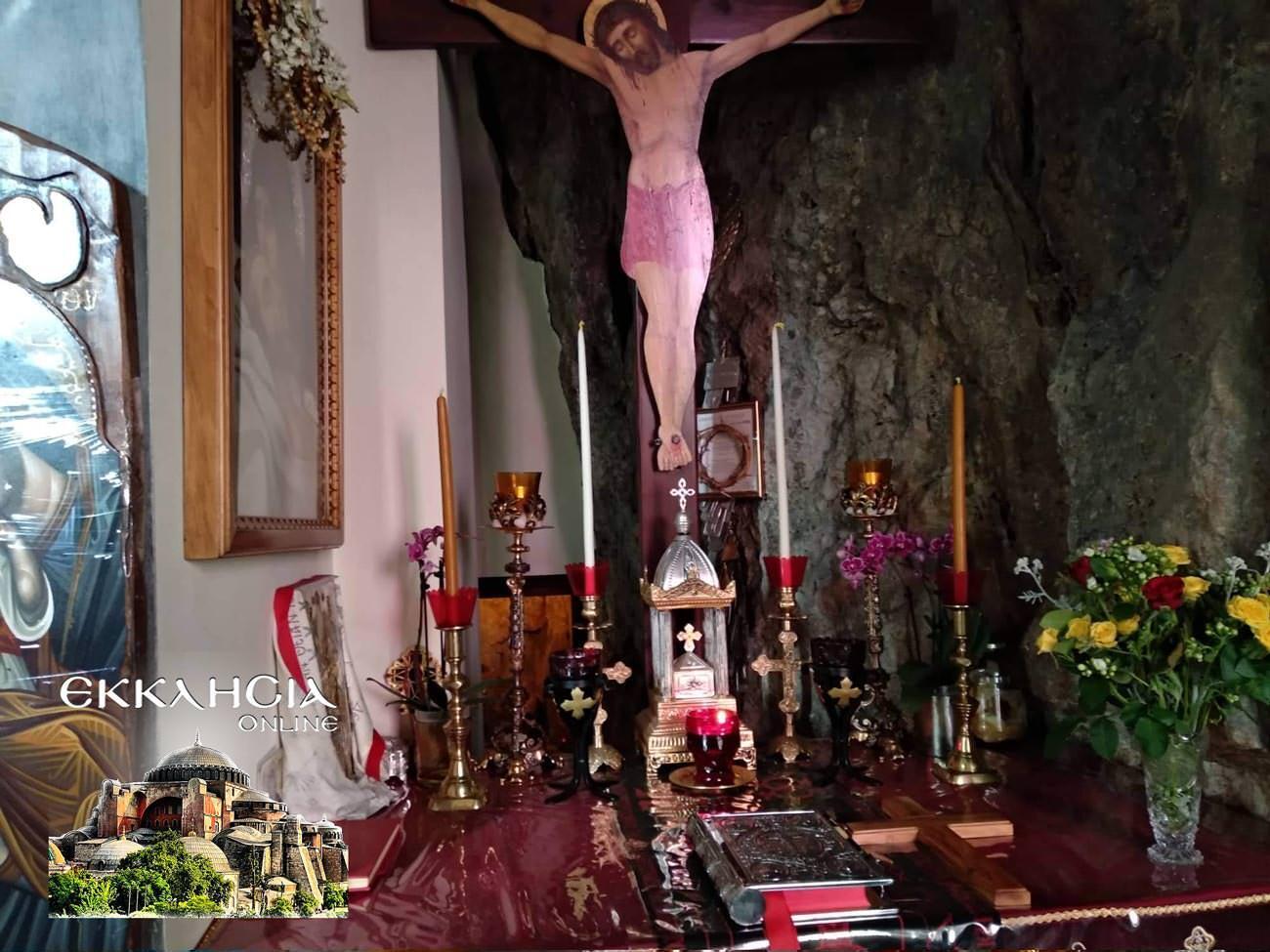 Άγιοι Ισίδωροι Λυκαβηττού Τίμιος Σταυρός 2019