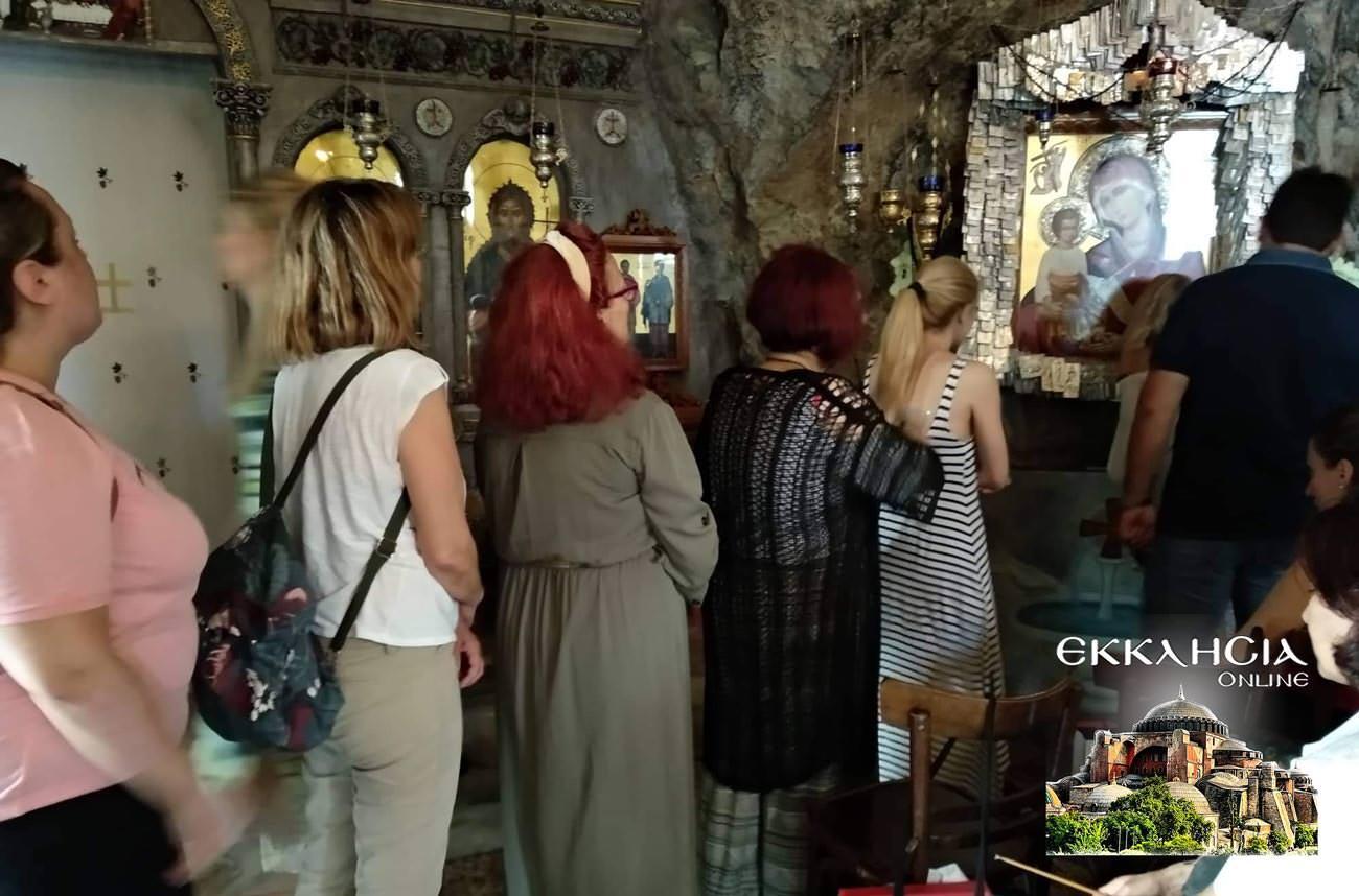 Άγιοι Ισίδωροι Λυκαβηττού Άγιος Απόστολος Ιούδας Θαδδαίος προσκύνημα 2019