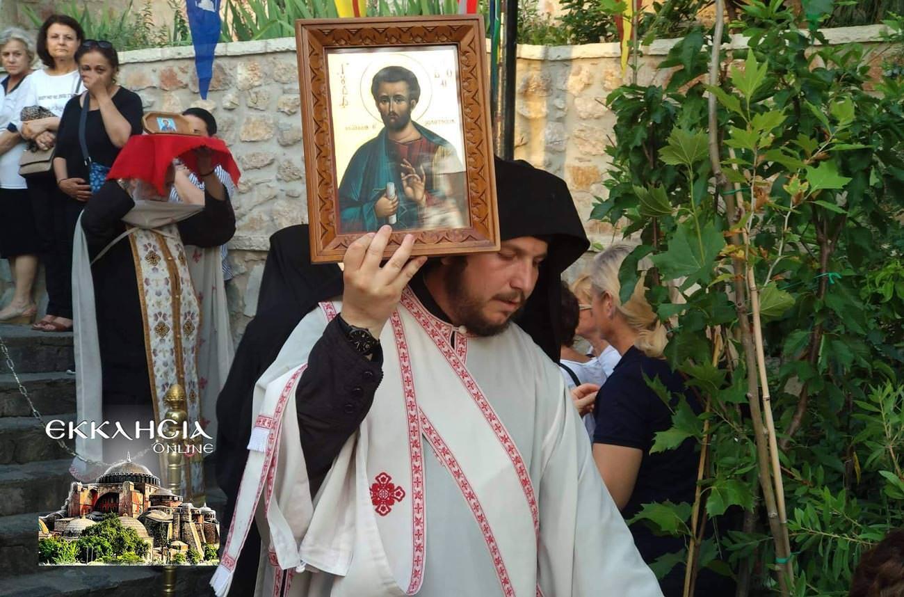 Λυκαβηττός Άγιος Ιούδας Θαδδαίος Ιερά Λείψανα 2019