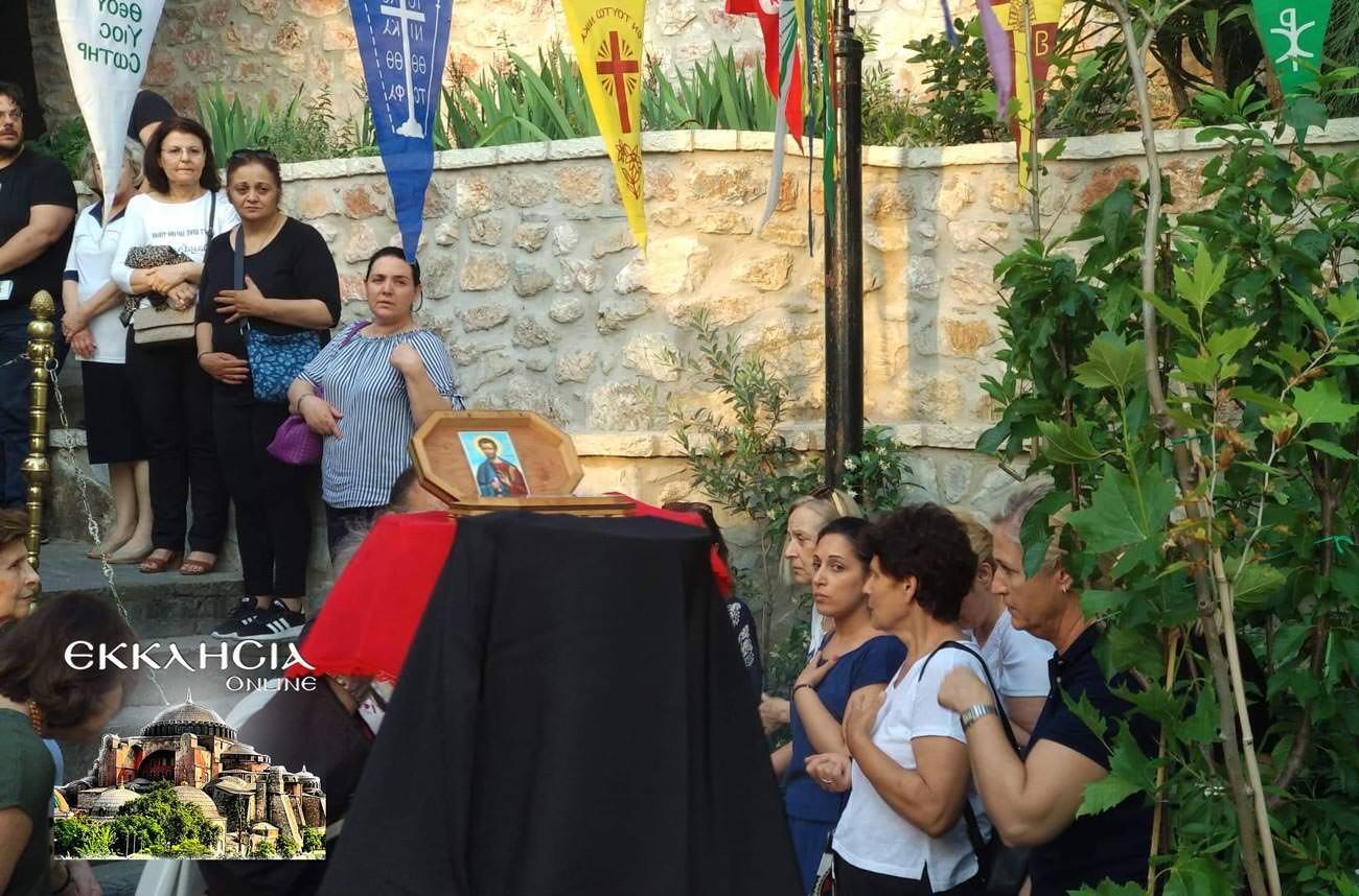 Λυκαβηττός Άγιος Απόστολος Ιούδας Θαδδαίος Λείψανα 2019