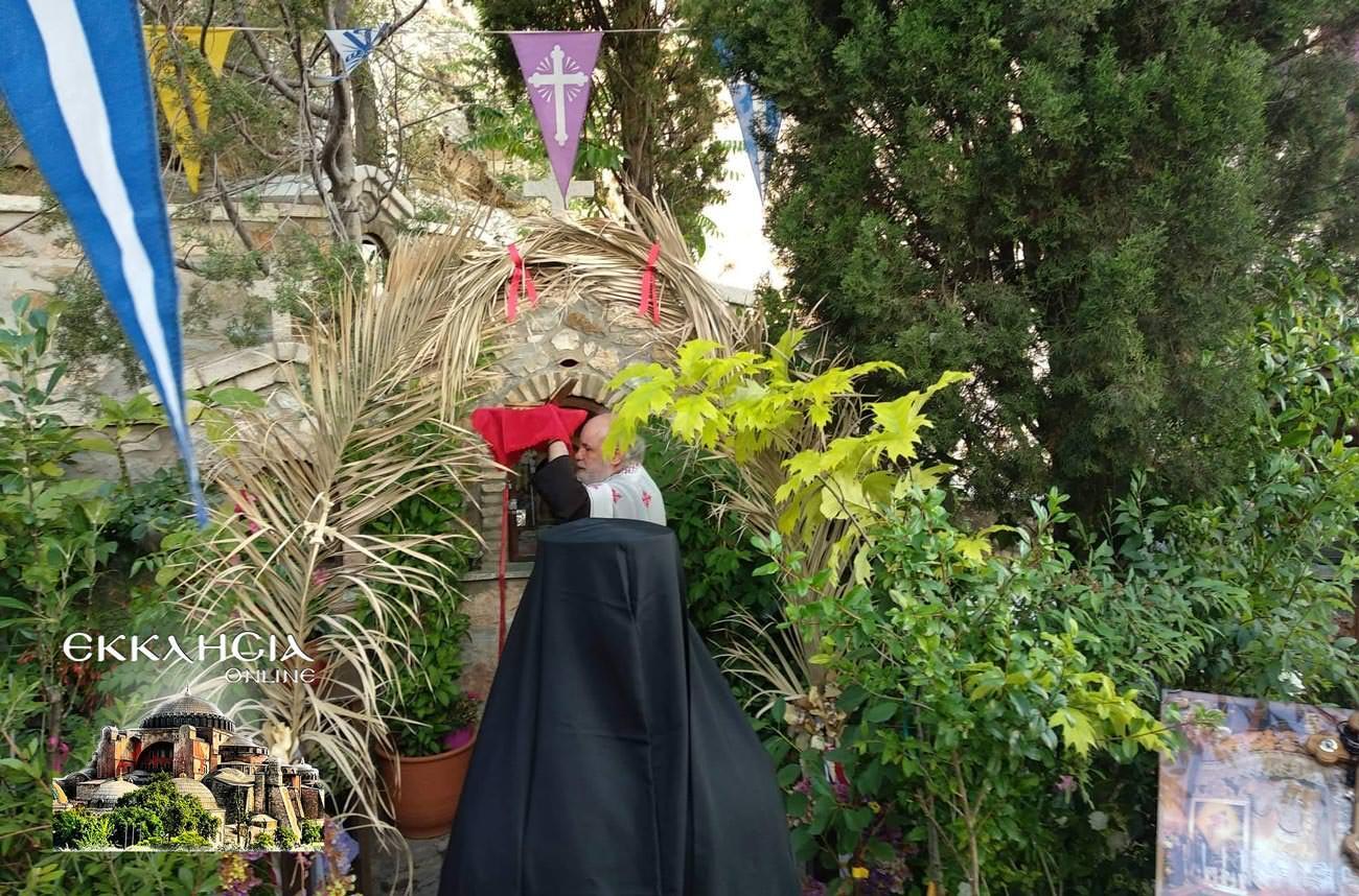 Λυκαβηττός Άγιος Ιούδας Θαδδαίος Ιερά Λείψανα
