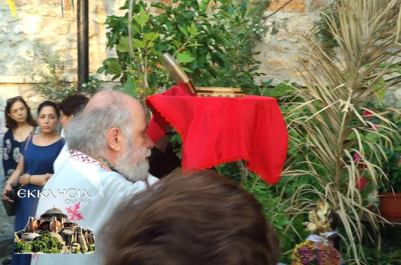 Άγιος Απόστολος Ιούδας Θαδδαίος Ιερά Λείψανα 2019 πάτερ Δημήτριος