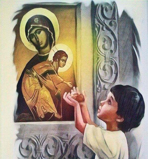 Όσιος Ονούφριος : Ο Άγιος που τάιζε ψωμί τον μικρό Χριστό…