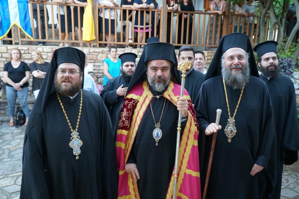 Ενθρόνιση νέου Ηγουμένου στην Ιερά Μονή Αγίου Προκοπίου στο ομώνυμο χωρίο των Τρικάλων