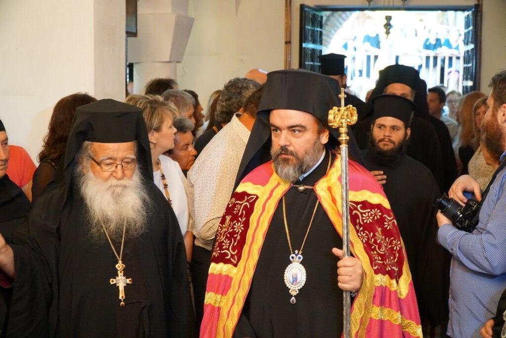 Ενθρόνιση νέου Ηγουμένου στην Ιερά Μονή Αγίου Προκοπίου στο ομώνυμο χωρίο Τρικάλων