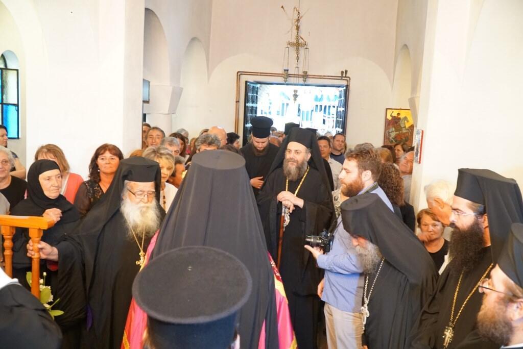 Ενθρόνιση νέου Ηγουμένου στην Ιερά Μονή Αγίου Προκοπίου Τρικάλων