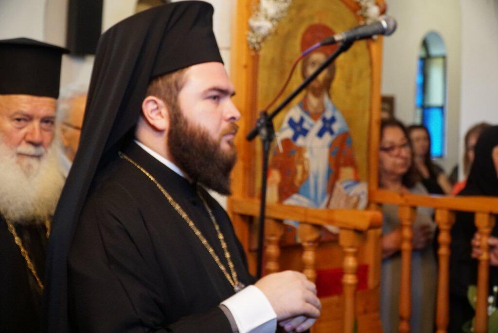 Ενθρόνιση Ηγουμένου στην Ιερά Μονή Αγίου Προκοπίου Τρικάλων