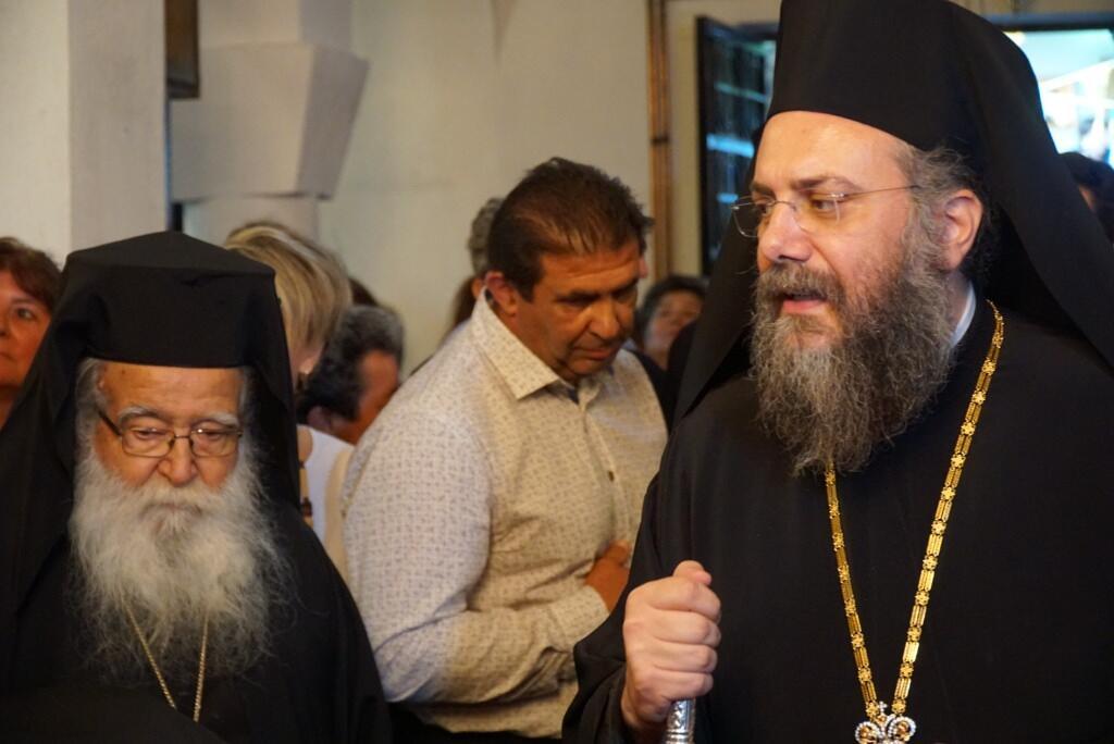 Ενθρόνιση Ηγουμένου στην Ιερά Μονή Αγίου Προκοπίου στο ομώνυμο χωρίο Τρικάλων